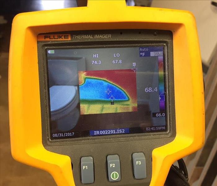 Thermal Imaging to Detect Water