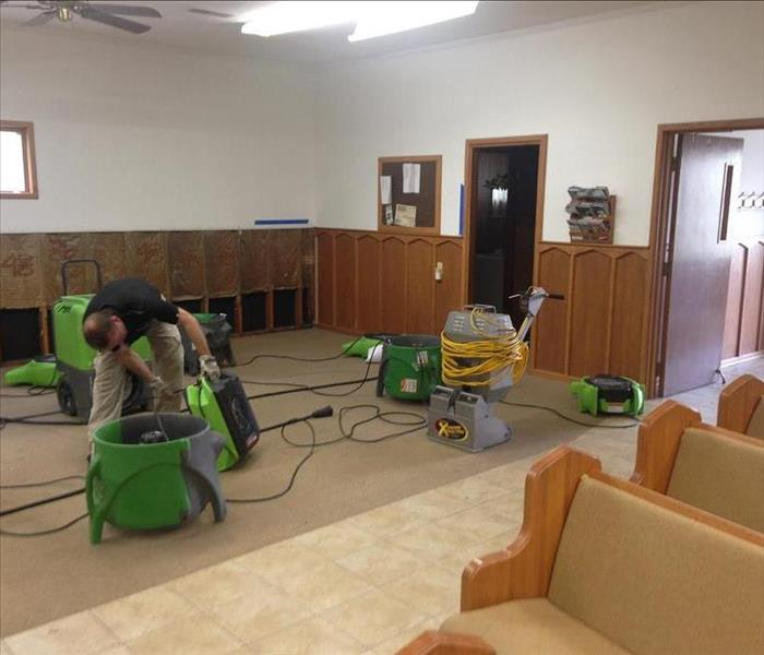 Water Damage Faster to your Paducah Water Damage Event