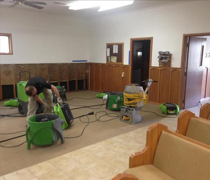 Water Damage What Happens After You Call SERVPRO of Paducah?